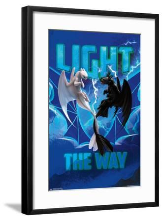 How To Train Your Dragon: The Hidden World - Faces--Framed Poster