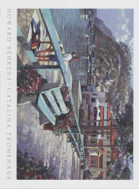 Catalina Promenade by Howard Behrens