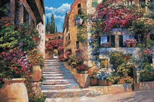 Riviera Stairs by Howard Behrens