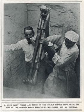 Howard Carter at the Excavation of Tutankhamun