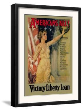 Americans All! Victory Liberty Loan by Howard Chandler Christy