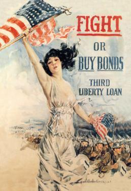 FIGHT! or Buy Bonds: Third Liberty Loan by Howard Chandler Christy
