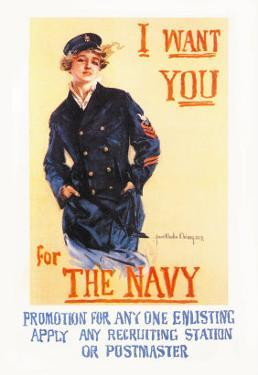 I Want You for the Navy by Howard Chandler Christy