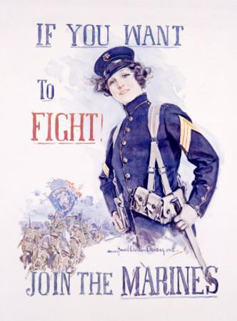 Join the Marines by Howard Chandler Christy