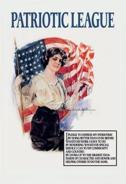 Patriotic League by Howard Chandler Christy