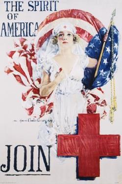 The Spirit of America Recruitment Poster by Howard Chandler Christy