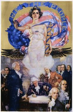 We the People Poster by Howard Chandler Christy