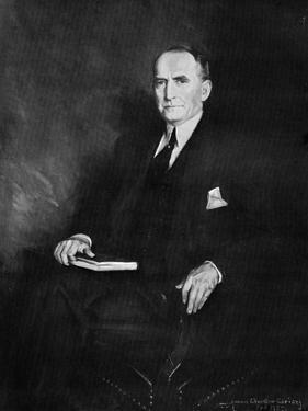 William Brockman Bankhead, Speaker of the House of Representatives, C1937 by Howard Chandler Christy