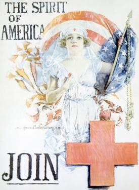 WWI, Spirit of America by Howard Chandler Christy