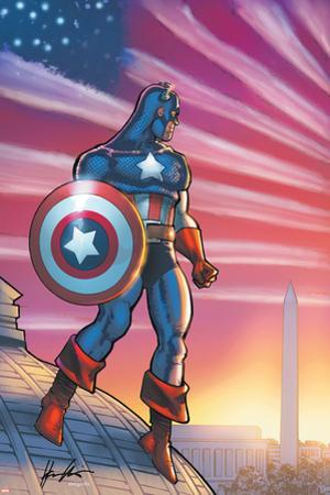 Captain America Theater Of War: America First! No.1 Cover: Captain America by Howard Chaykin