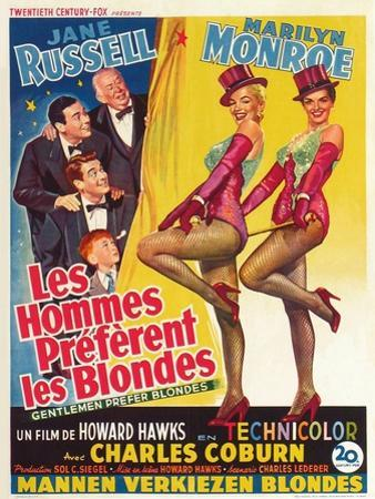 "Howard Hawks' Gentlemen Prefer Blondes, 1953, ""Gentlemen Prefer Blondes"" Directed by Howard Hawks"