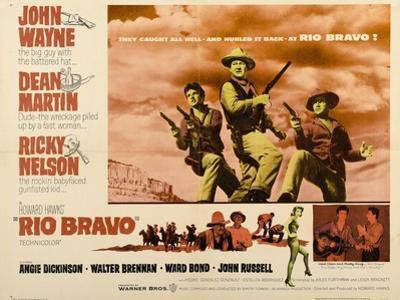 "Howard Hawks' Rio Bravo, 1959, ""Rio Bravo"" Directed by Howard Hawks"