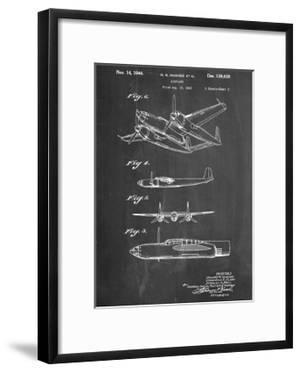 Howard Hughes Airplane Patent