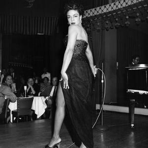 Hazel Scott - August 1955 by Howard Morehead