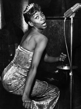 Josephine Premice - 1954 by Howard Morehead