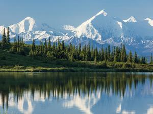 Wonder Lake, Denali National Park, Alaska by Howard Newcomb
