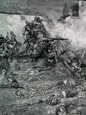 Battle of Santo Domingo by Howard Pyle