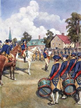 Washington's Army, 1776 by Howard Pyle
