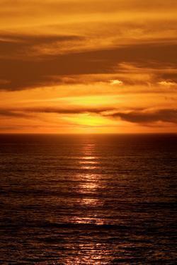 Beach Sunset by Howard Ruby