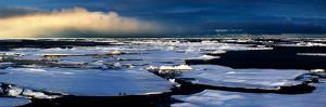 Broken Sea Ice by Howard Ruby