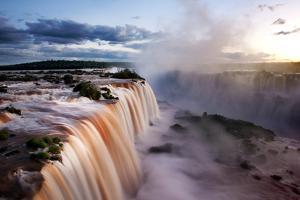 Iguazu Water Fall I by Howard Ruby