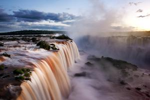 Iguazu Water Fall I by Howard Ruby