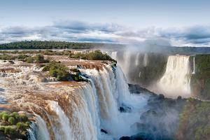 Iguazu Water Fall II by Howard Ruby