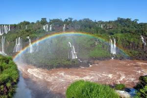 Iguazu Water Fall IIII by Howard Ruby