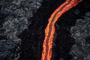 Lava Flow II by Howard Ruby