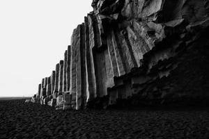 Pillars of the Beach by Howard Ruby