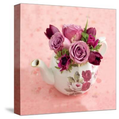 Floral Tea Pot by Howard Shooter