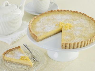 Tarte Au Citron, Lemon Tart by Howard Shooter