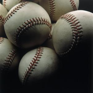 Still Life of Baseballs by Howard Sokol