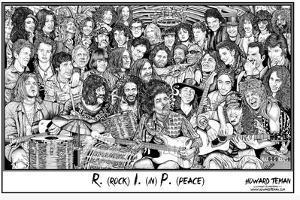Howard Teman- (R.I.P.) Rock in Peace by Howard Teman