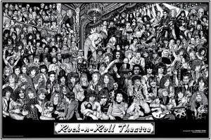 Rock & Roll Theatre by Howard Teman