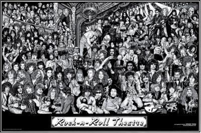 Rock & Roll Theatre by Howard Teman