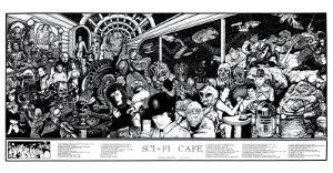 Sci-Fi Cafe by Howard Teman
