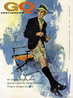 GQ Cover - May 1959 by Howard Terpning