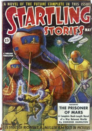 The Prisoner of Mars by Howard V. Brown