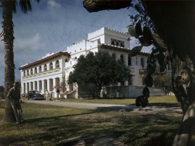 Scenic View of Santa Gertrudis, King Ranch's Main Headquarters