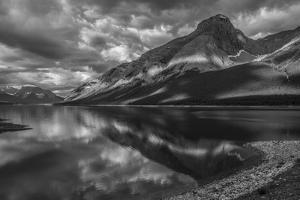 A Tranquil Dawn in Spray Lakes Provincial Park by Howie Garber