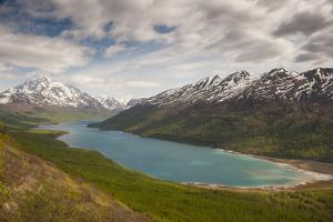 Eklutna Lake and Bold Peak, Chugach State Park, Alaska by Howie Garber
