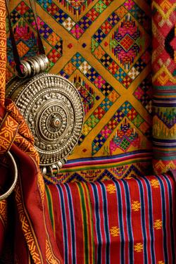 Fabrics, Bhutan by Howie Garber