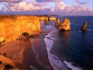 Morning at 12 Apostles, Great Ocean Road, Port Campbell National Park, Victoria, Australia by Howie Garber