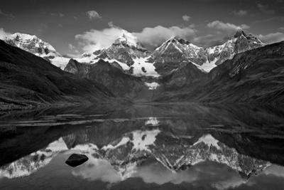 Mt Alpamayo in Ancash Region, Cordillera Blanca, Andes Mountains, Peru by Howie Garber