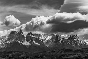 Torres Del Paine National Park, Cuernos and Clouds, Region 12, Chile, Patagonia by Howie Garber