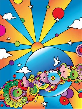 Cosmic Planet by Howie Green