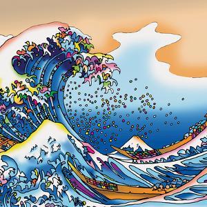 Howie Green- Great Wave by Howie Green