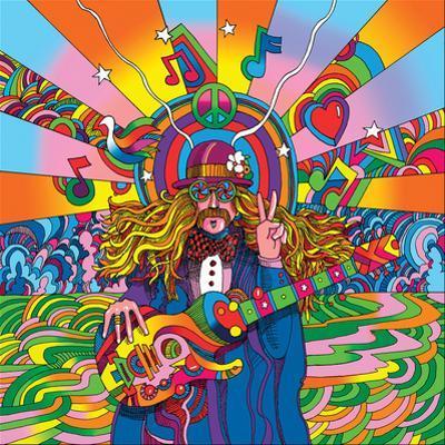 Howie Green- Hippie Musician by Howie Green