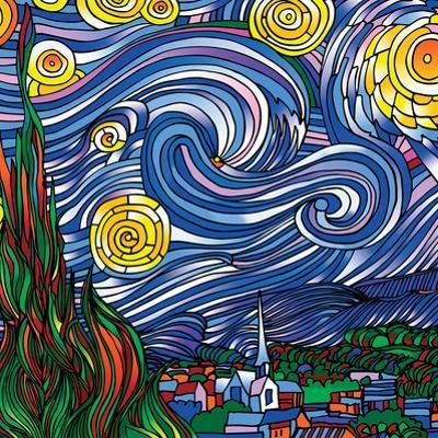 Howie Green- Starry Night by Howie Green